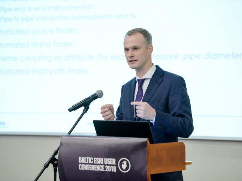Energy Advice Baltijos šalių ESRI vartotojų konferencijoje