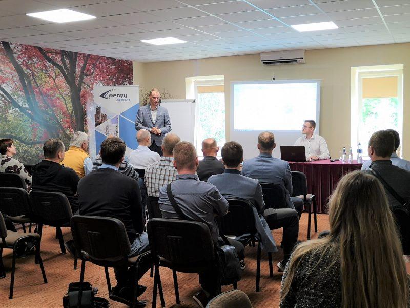 Energy Advice Panevėžyje pristatė Pramonės įmonių skaitmenizavimo ir energetinio efektyvumo didinimo galimybes
