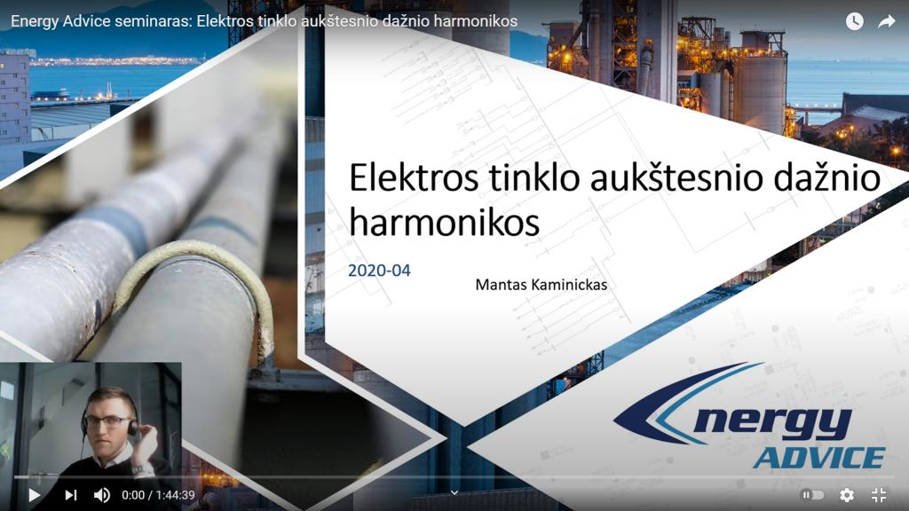Aukštesniojo dažnio harmonikos, jų žala ir mažinimo būdai