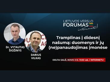 Apie gamybos proceso efektyvinimą – susitikime Lietuvos verslo forume