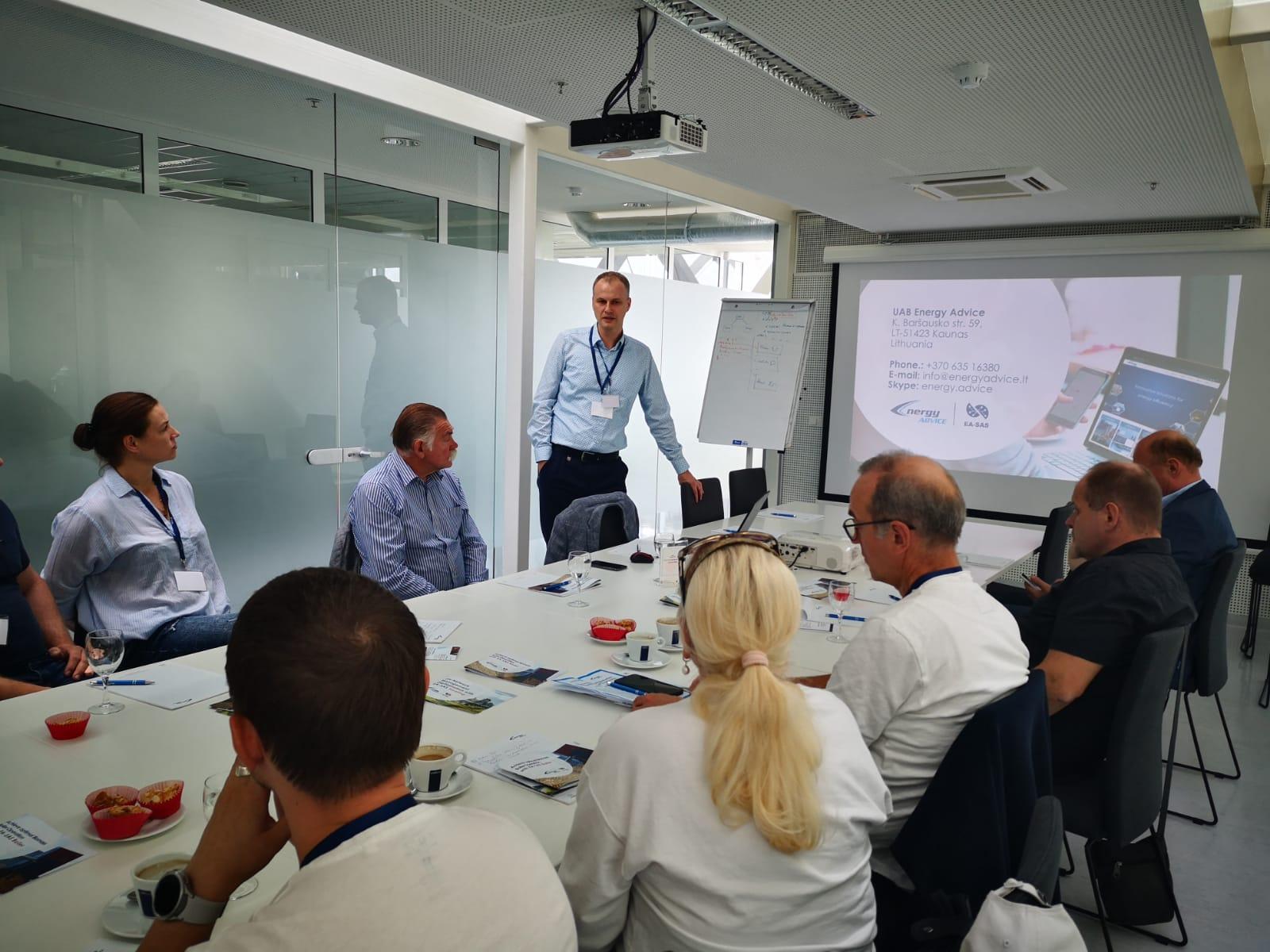 Energy Advice sukurtas produktas sulaukė Latvijos šilumos tiekimo įmonių susidomėjimo